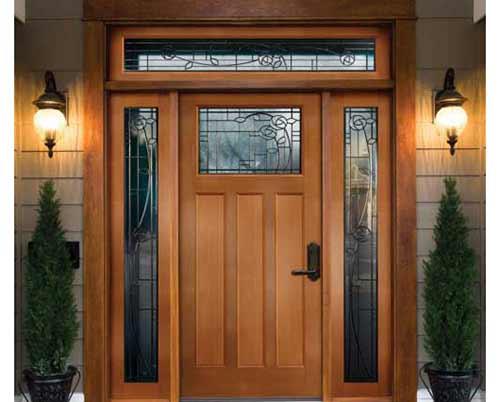 درب های طرح چوب نفررو